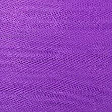 Violet Purple Dress Net Fabric